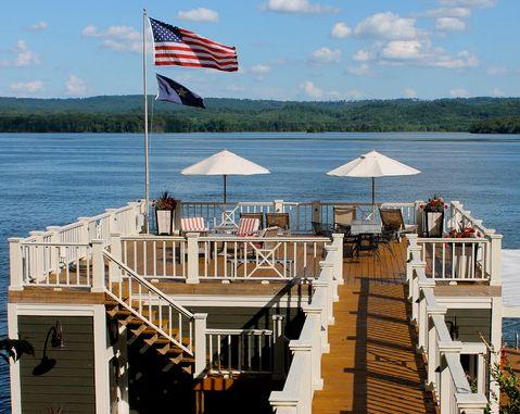 Alabama Boathouse Railing Idea