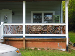 Cherokee Branch Porch Railing