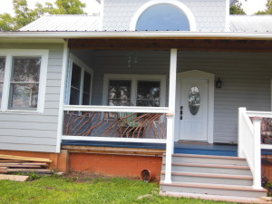 Cherokee North Carolina Porch Railing