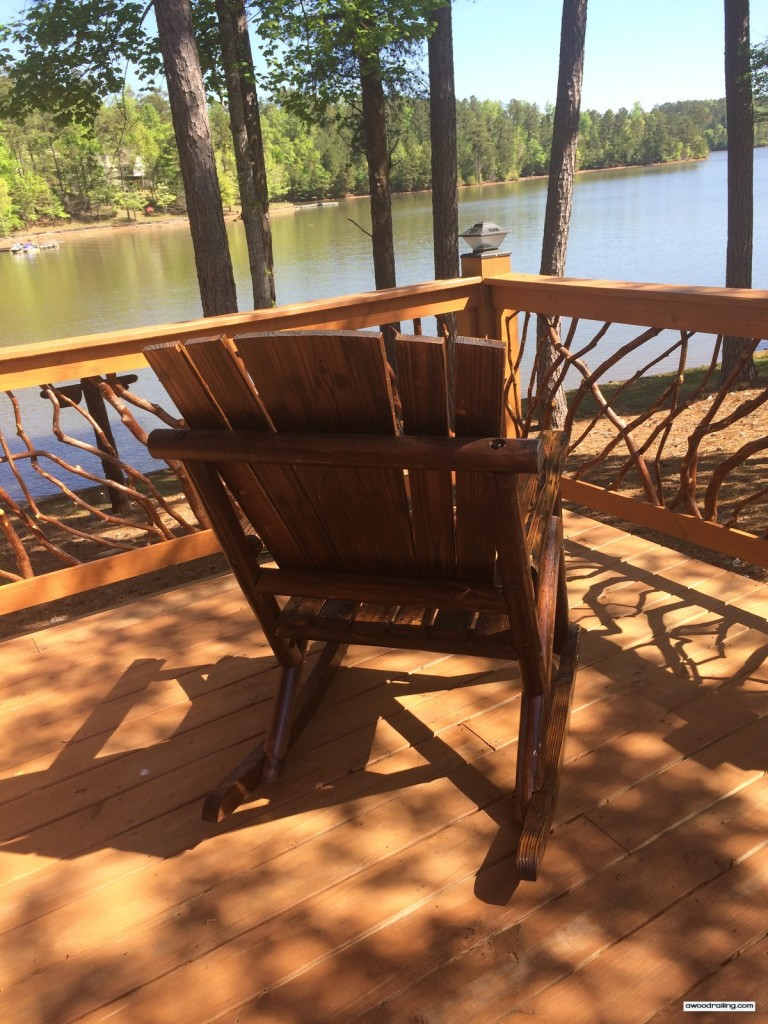 Deck Railing Chair