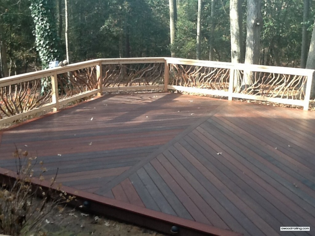 Deck Railing Sun