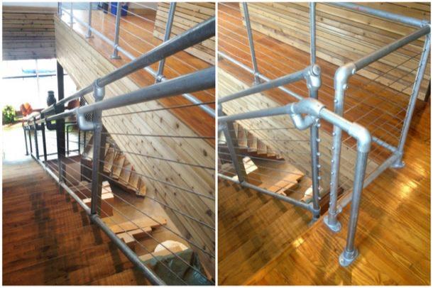Simplified Stair Railing