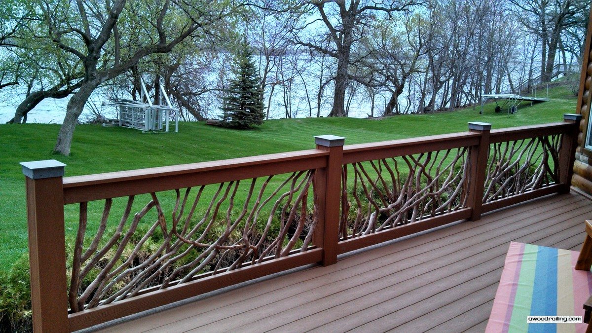 deck railing ideas for your home find one for you. Black Bedroom Furniture Sets. Home Design Ideas