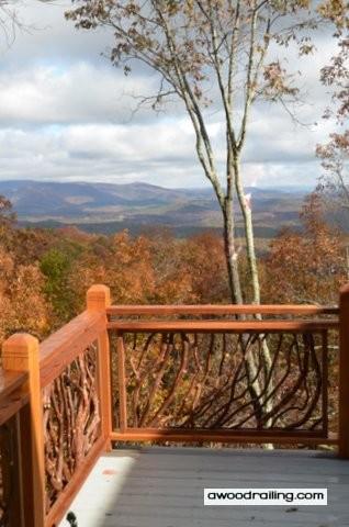 Mountain Deck Handrail