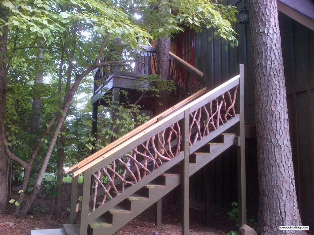 Asheville NC Stair Railing