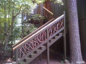 Side Railing Stairs