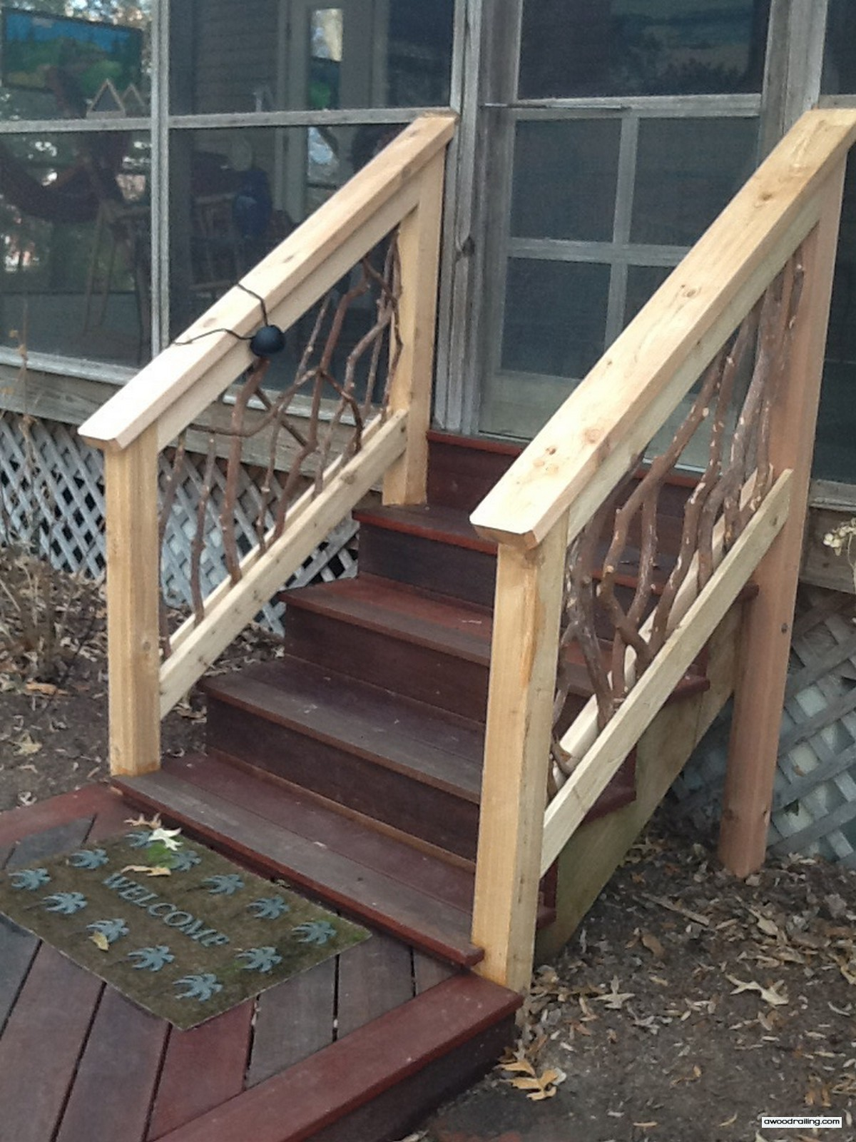 Stair Railing Spider Deck Railing Ideas
