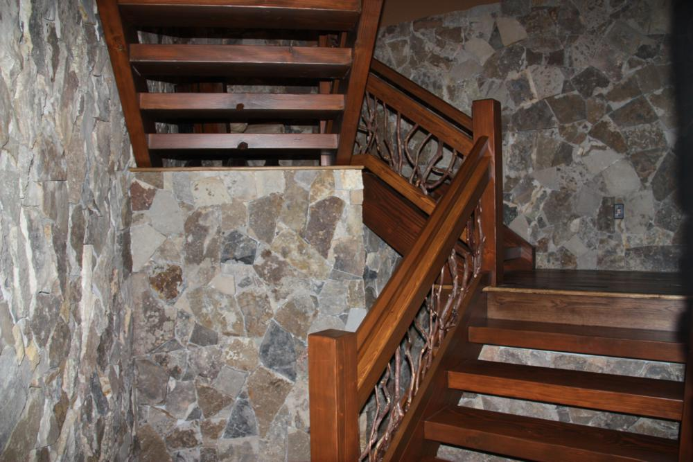 Stair Railing Stone Staircase