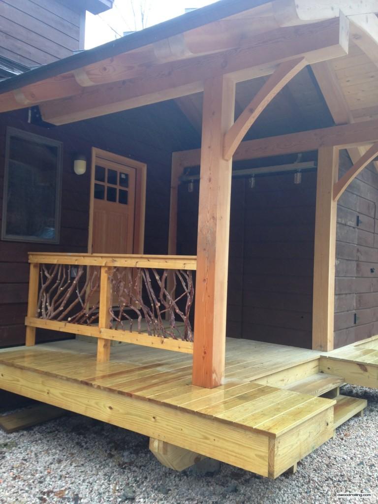 Vermont Porch Railing