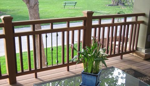 x eye railing design Deck Railing Ideas