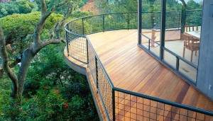 JG Sausalito Elevated Curved Ipe Deck