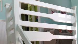 Oar Stair Railing