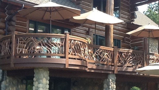 Deck railing ideas for your home find one for you for Best place for decking