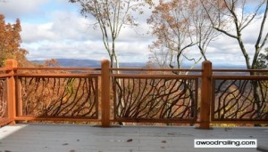 Custom Deck Handrail