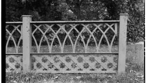 Gothic Style Metal Railing Design
