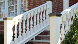 Grecian Urn Style Turned Balusters