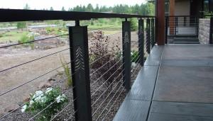 Keuka Studio Prairie Style Cable Railing
