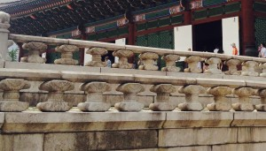Korean Castle Stone Handrails