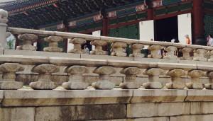 Korean Castle Stone Handrails