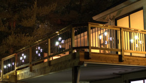 Metal Balusters with LED Lights