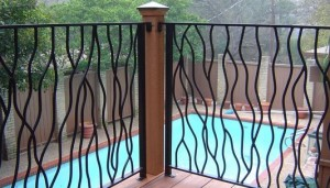 Metal Branches Railing