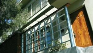 Metal Slat Squares Handrail
