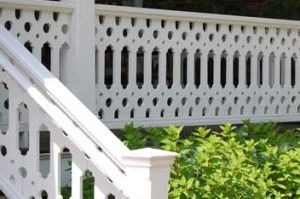 Modified Oval and Circles Sawn Balusters