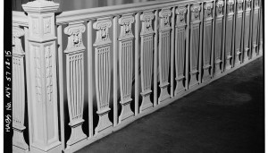 Neoclassical Doric Column Metal Baluster