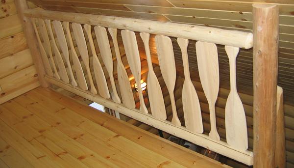 Oar Railing Idea Deck Railing Ideas