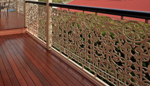Ornamental Intricate Wrought Iron Handrail