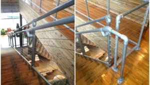 Pipe Cable Railing Design