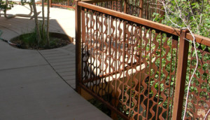 Waterfall Baluster Metal Railing