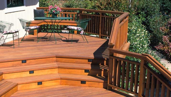 Redwood Deck Railing Ideas | Zef Jam